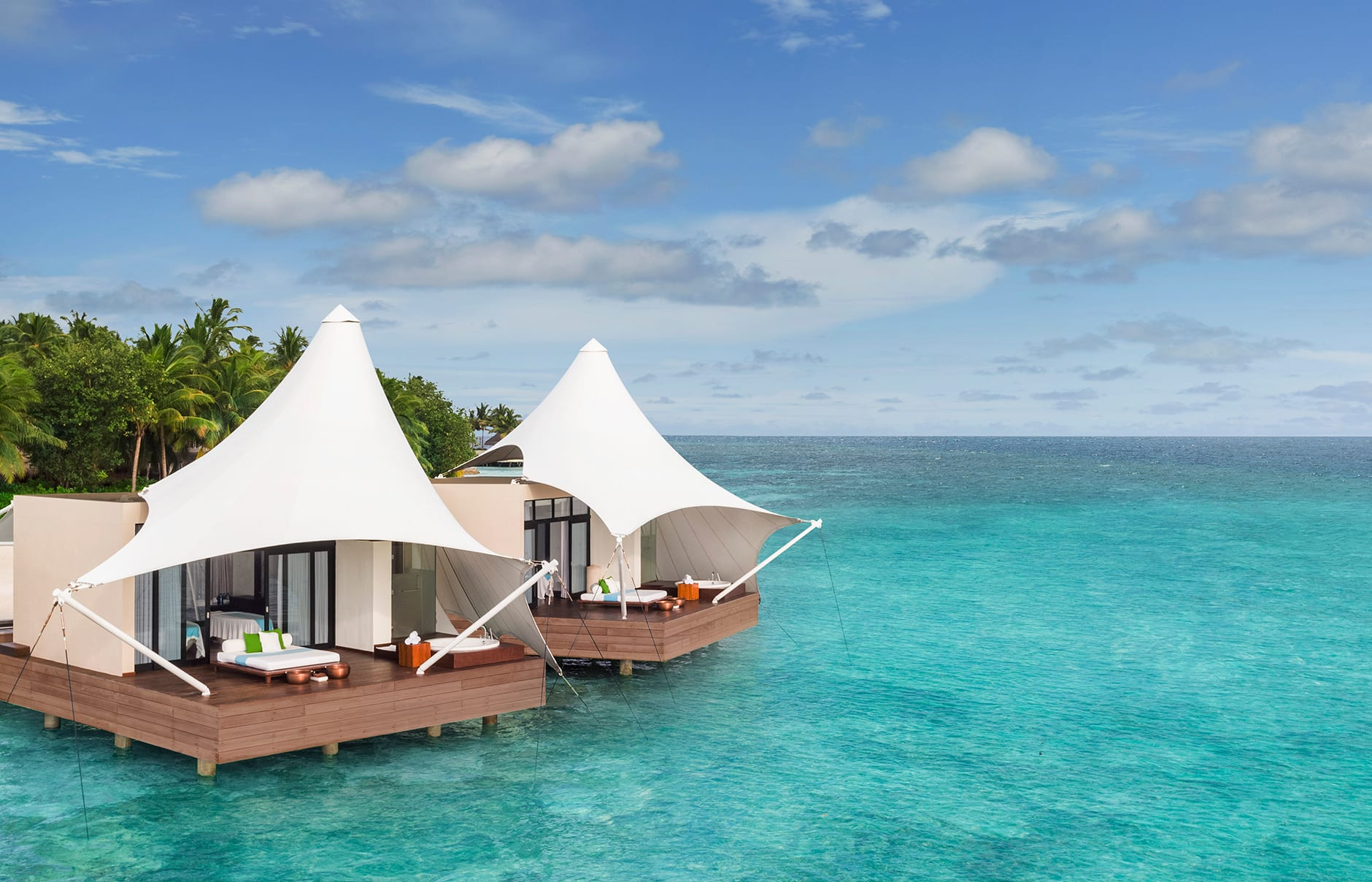 W Maldives, Fesdu Island, Maldives. Hotel Review by TravelPlusStyle. Photo © Marriott International