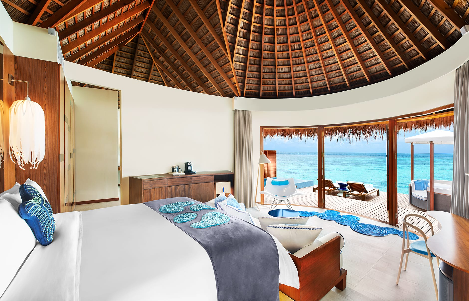 Ocean Oasis Retreat. W Maldives, Fesdu Island, Maldives. Hotel Review by TravelPlusStyle. Photo © Marriott International