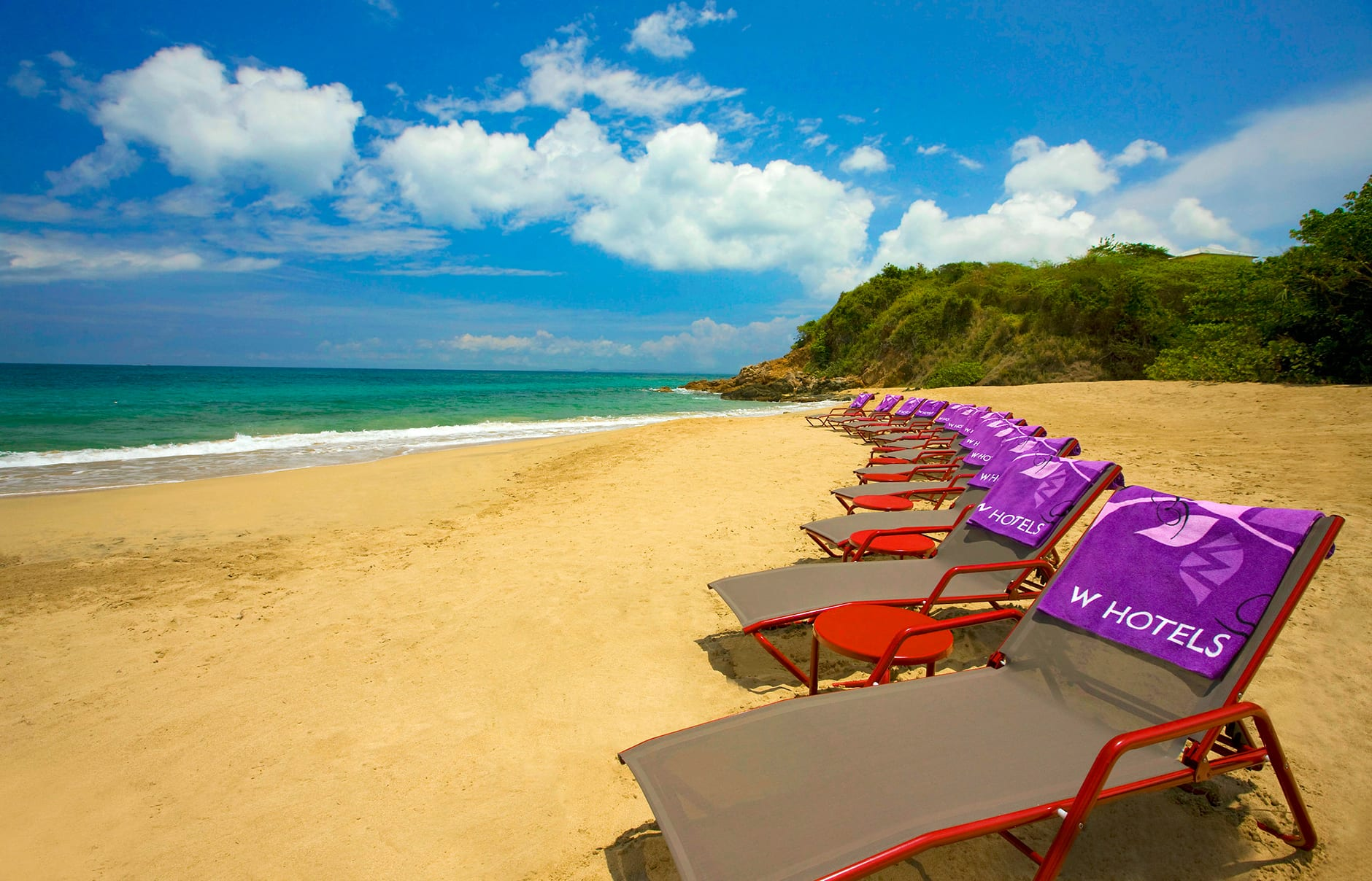 W beach. W Retreat & Spa – Vieques Island, Puerto Rico. © Starwood Hotels & Resorts