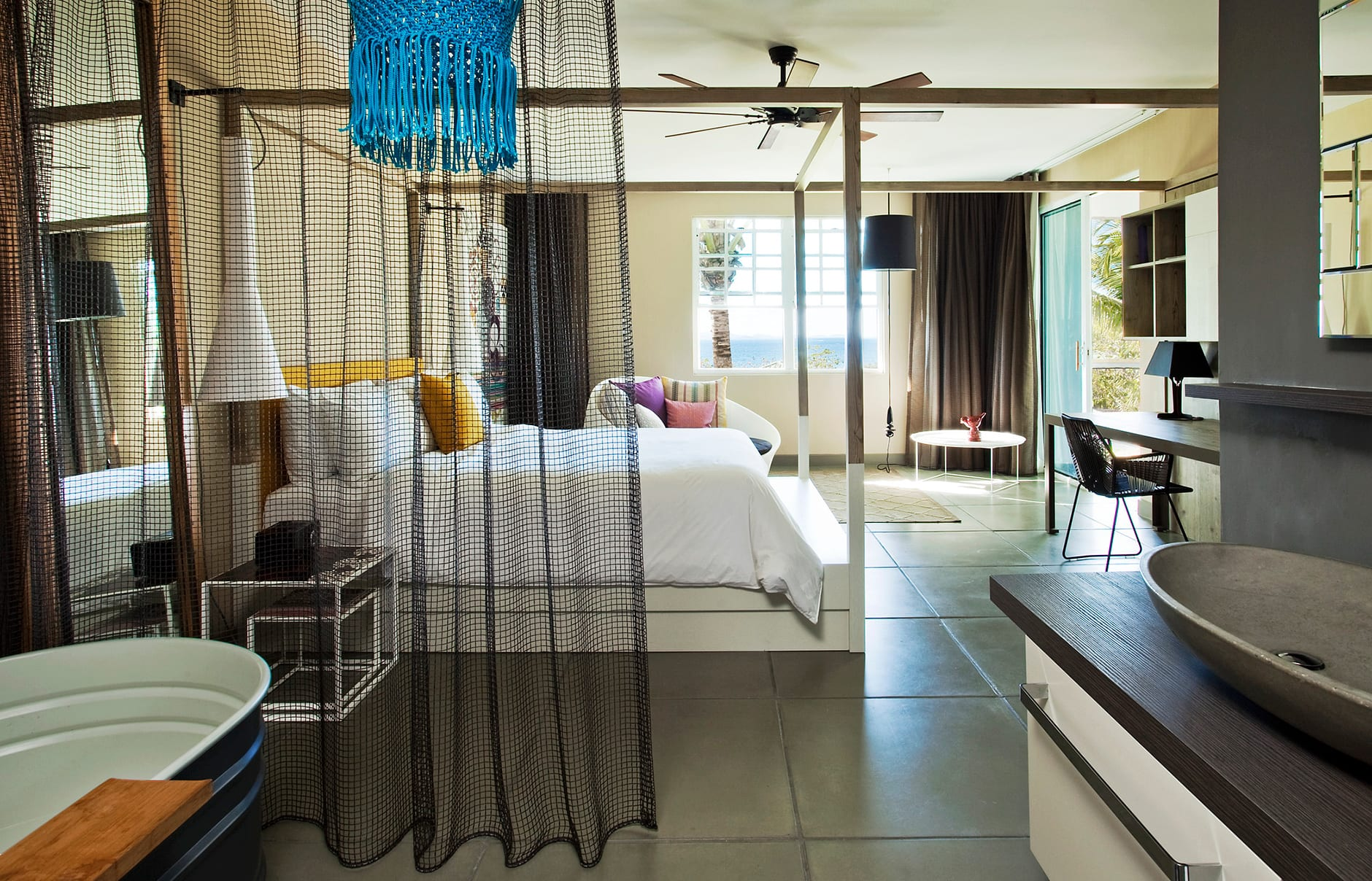 Marvelous Retreat bedroom. W Retreat & Spa – Vieques Island, Puerto Rico. © Starwood Hotels & Resorts