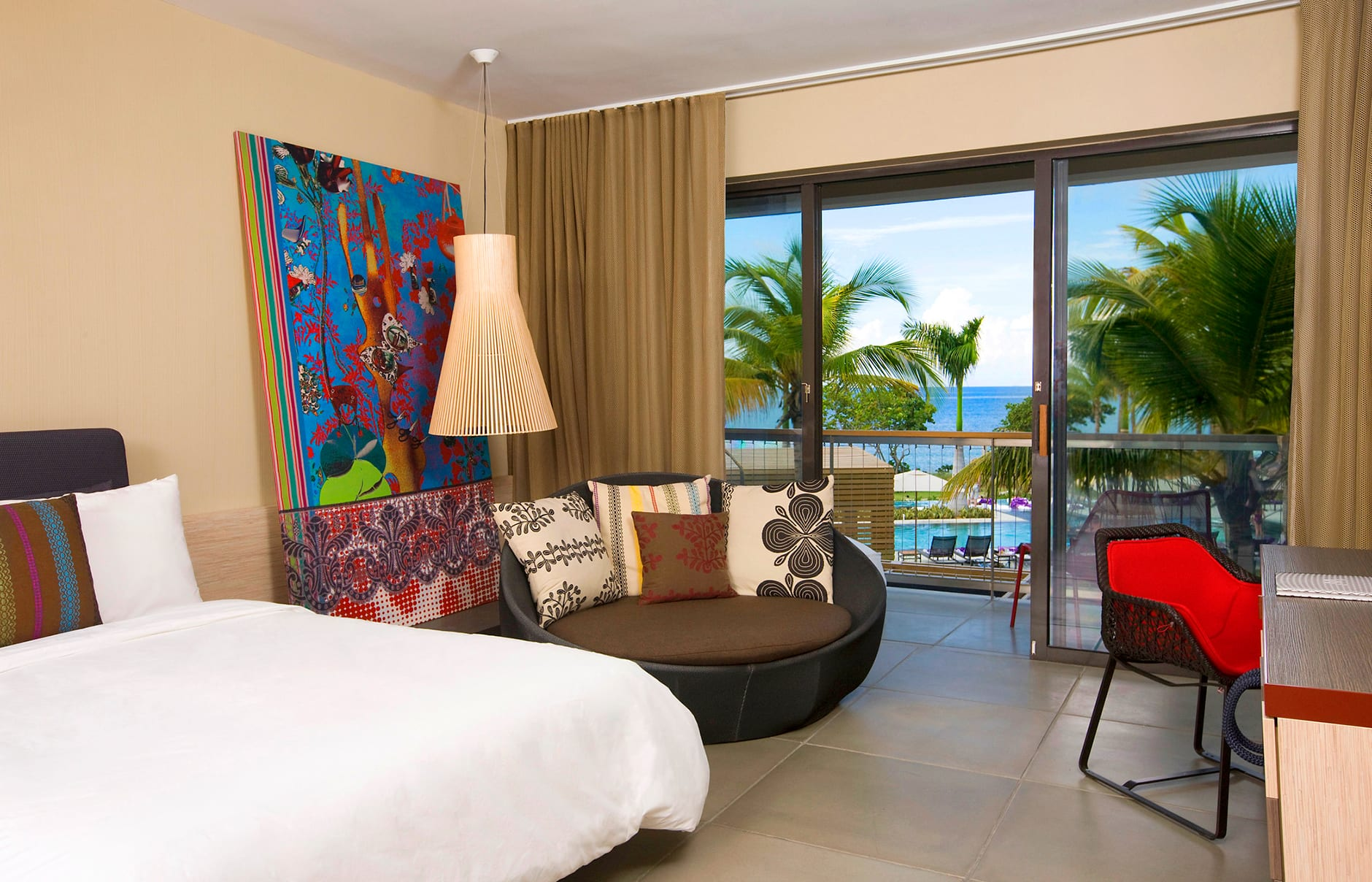Spectacular Room. W Retreat & Spa – Vieques Island, Puerto Rico. © Starwood Hotels & Resorts