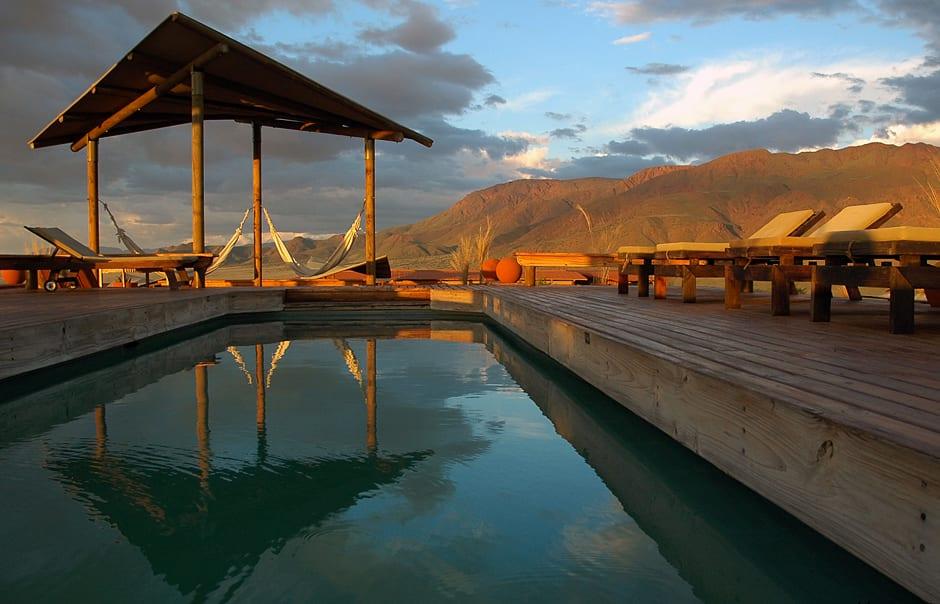Pool. Wolwedans Dunes Lodge, Namibia. © Wolwedans