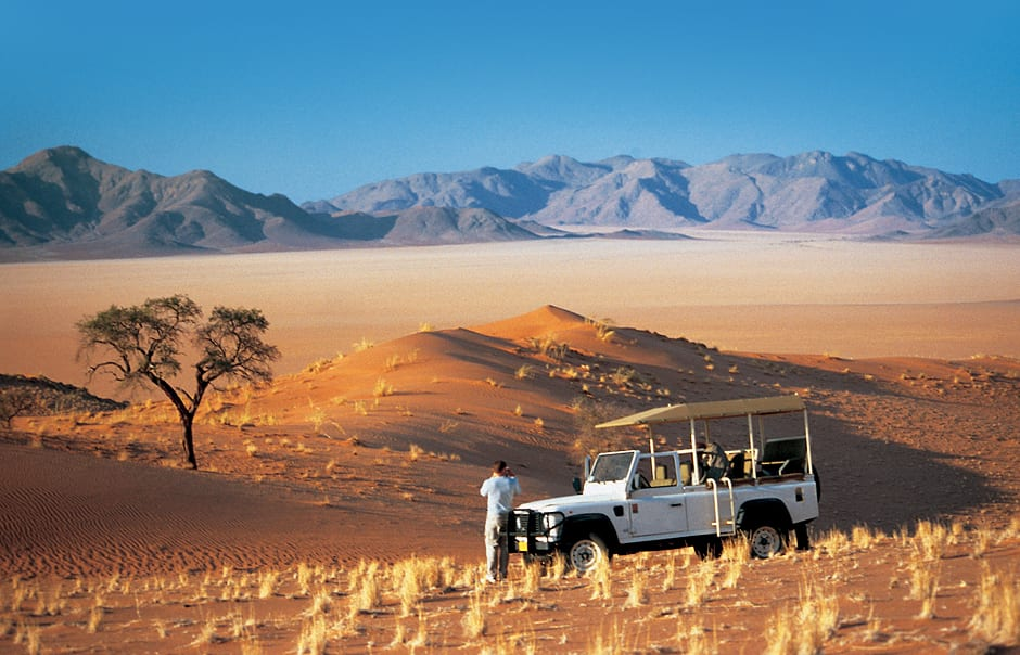 Scenic drive. Wolwedans Dunes Lodge, Namibia. © Wolwedans