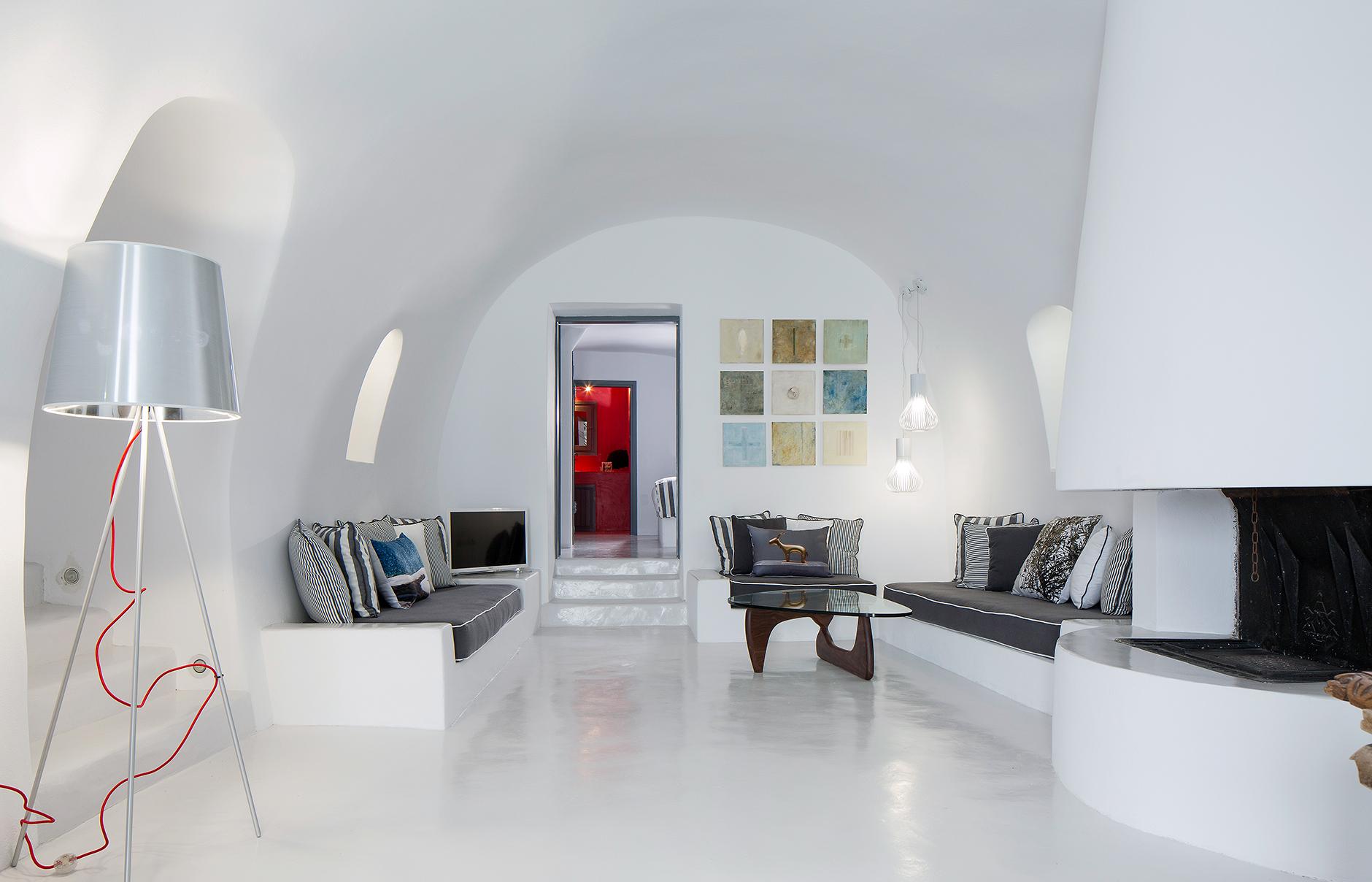 Santorini Luxury Hotel Room