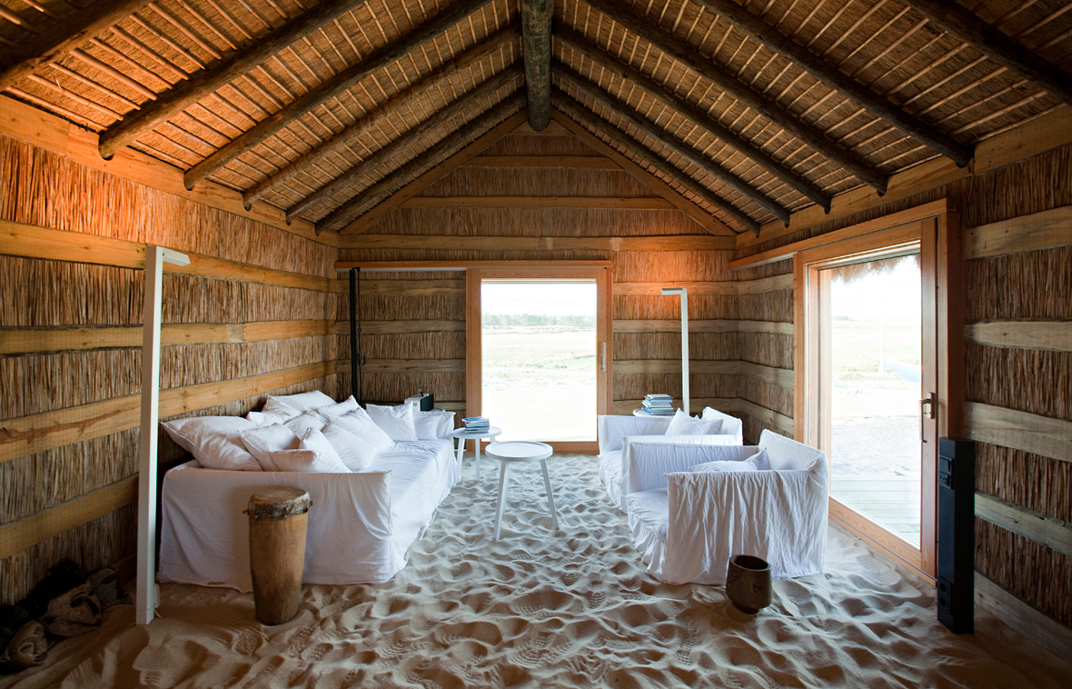 Casas na areia the houses lined with sand luxury hotels for Small romantic hotels