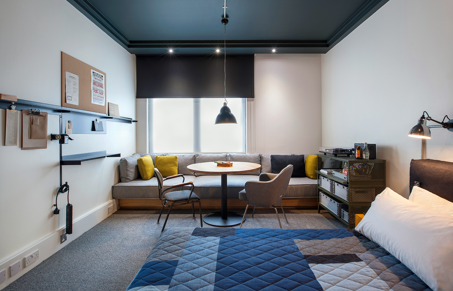 An american in london ace hotel shoreditch luxury for Ace hotel decor