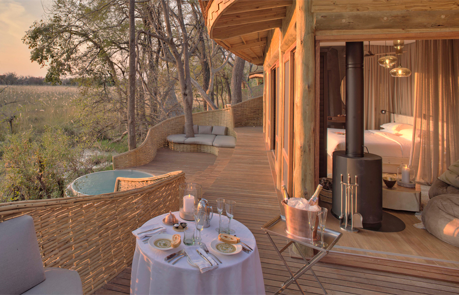New Opening Botswana S Sandibe Okavango Safari Lodge