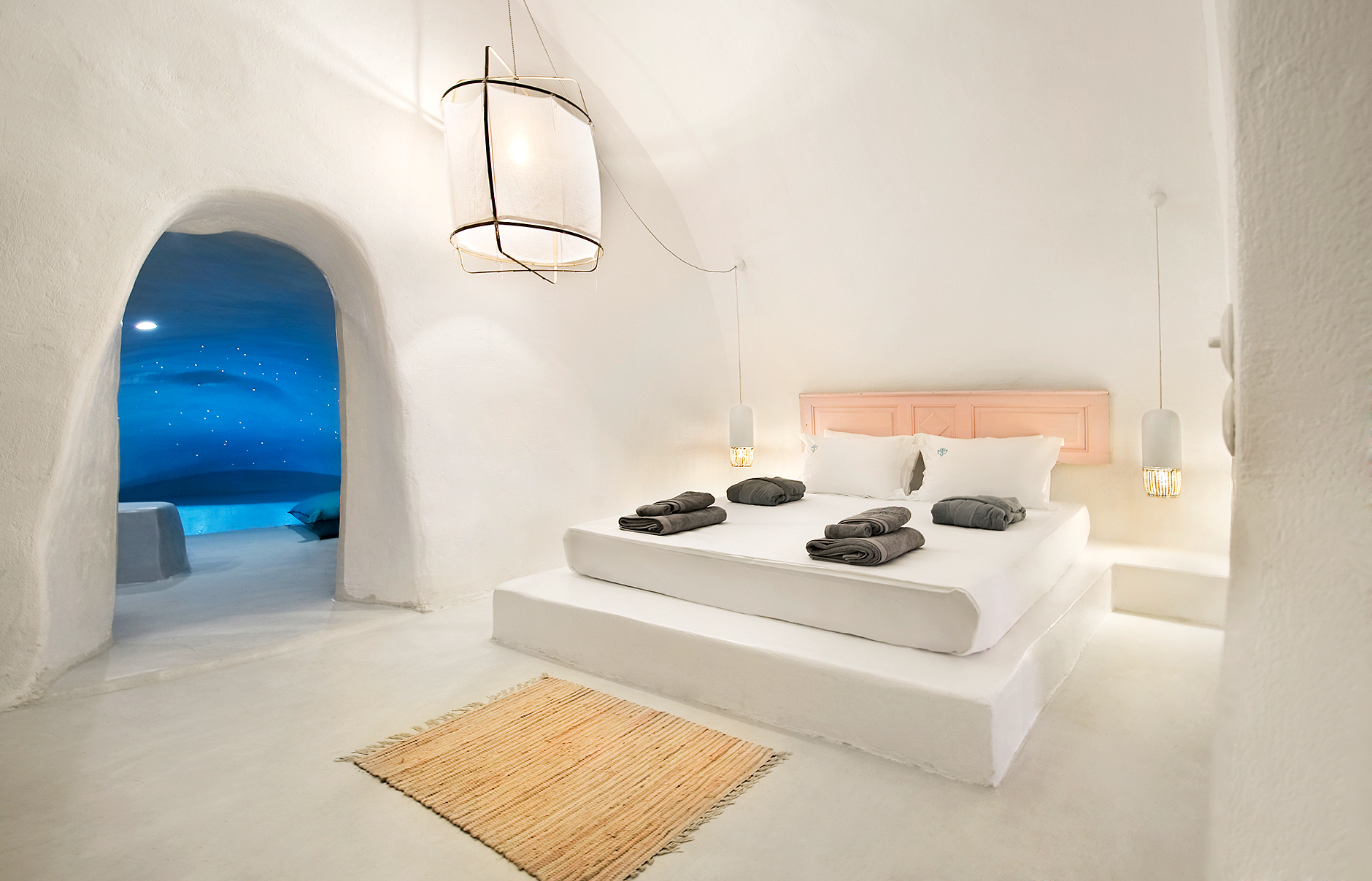 Santorinian Harmony At Sophia Luxury Suites