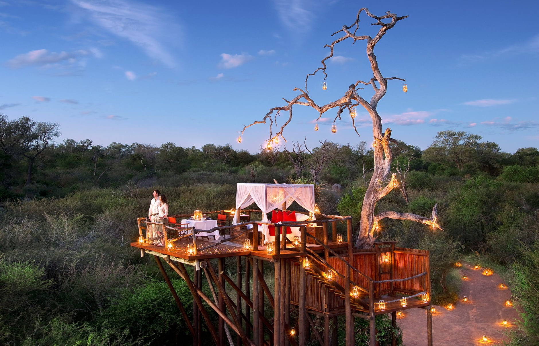 12 Most Romantic Star Beds In Africa 171 Luxury Hotels Travelplusstyle